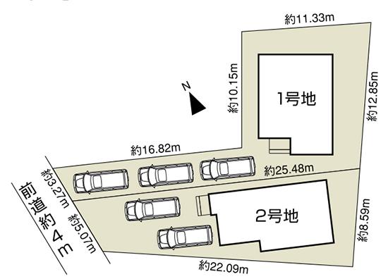 奥海印寺太鼓山Ⅱ 区画